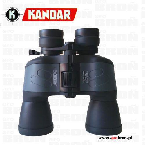 Lornetka KANDAR A98 10-50x60 ZOOM - 62m/1000m