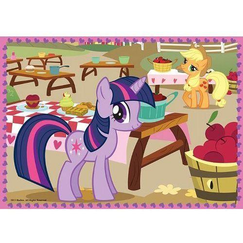 Trefl My little pony puzzle 4w1 wakacje kucyków (5900511341539)