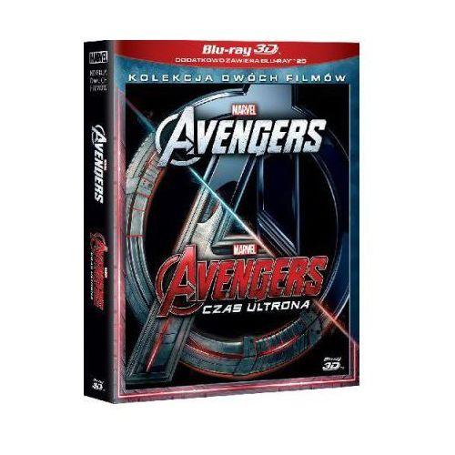 Avengers. pakiet 2 filmów 3d (4bd) (avengers, avengers: czas ultrona) marki Galapagos