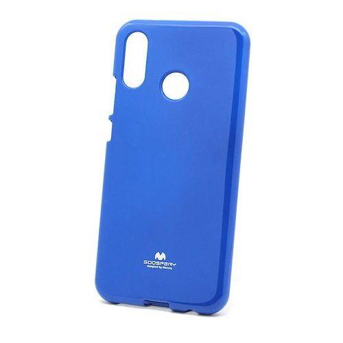 Etui silikonowe Huawei P20 Lite Jelly Mercury Case niebieski