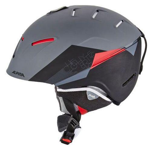 Alpina ESTETICA Gogle narciarskie black matt (4003692240323