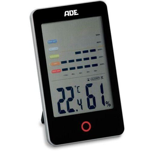 Ade Domowy higrometr i termometr elektroniczny czarny (ad-ws 1701) (4260336175940)