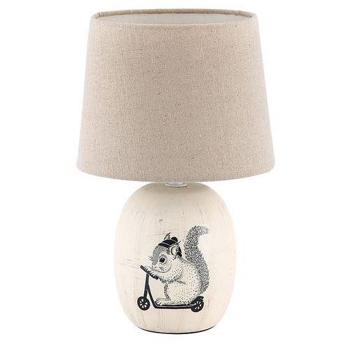 Rabalux Lampa stołowa dorka 4604 lampka nocna 1x40w e14 kremowy (5998250346045)