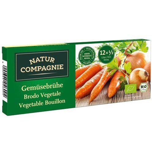 Bulion Kostki Warzywne BIO 126 g Natur Compagnie, 4000345046004