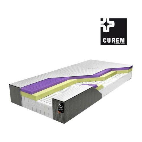 Curem.exe – materac piankowy, twardość - średni, rozmiar - 200x210 wyprzedaż, wysyłka gratis, 603-671-572 marki Curem by hilding