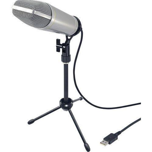 Renkforce Mikrofon studyjny  usb-s1 (4016138934199)