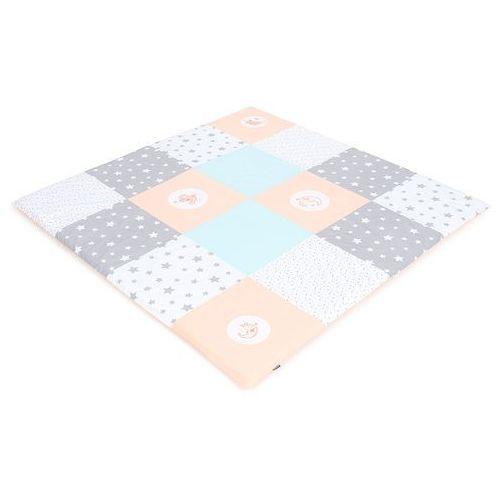mata podłogowa do raczkowania dla dzieci 160x160 pastelowa marki Mamo-tato