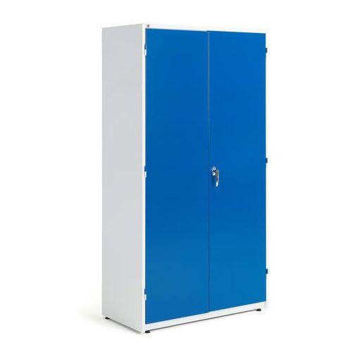 Aj produkty Szafa warsztatowa, 1900x1020x500 mm, biały, niebieski