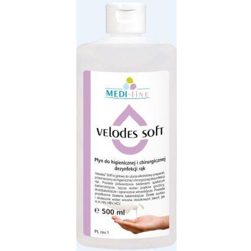 MEDI-LINE VELODES SOFT Pyn do dezynfekcji rąk 500 ml (ref. SSE-43-GOT-ML542)