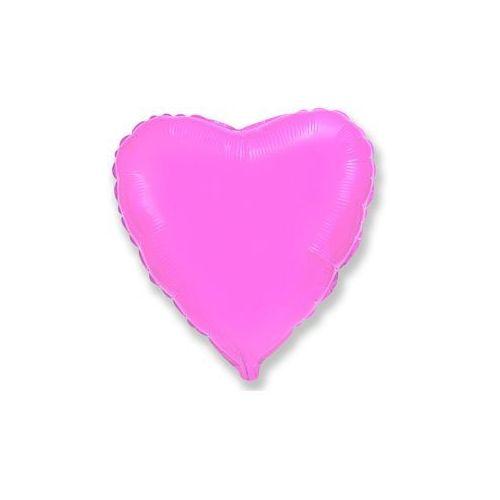 Go Balon foliowy serce różowe - 47 cm - 1 szt.