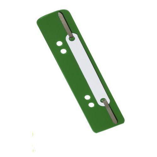 Wąsy skoroszytowe zielone 25 szt. marki Durable