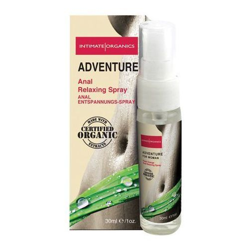 Spray analny dla kobiet -  adventure anal spray women marki Intimate organics
