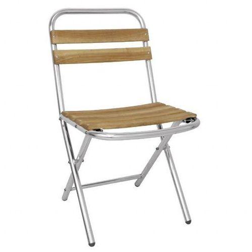 Krzesło składane | 550x430x(h)802mm | 4 szt. marki Bolero