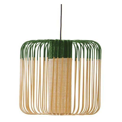 BAMBOO - Lampa wisząca zewnętrzna Bambus/Zielony Wys.40cm
