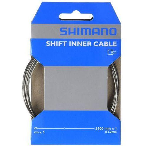 Shimano Y60098070 linka przerzutki y60098070 1,2x2100 mm (4524667072805)