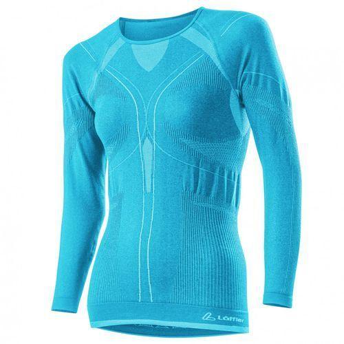 Löffler Bielizna termoaktywna transtex warm shirt seamless women niebieski 36/38