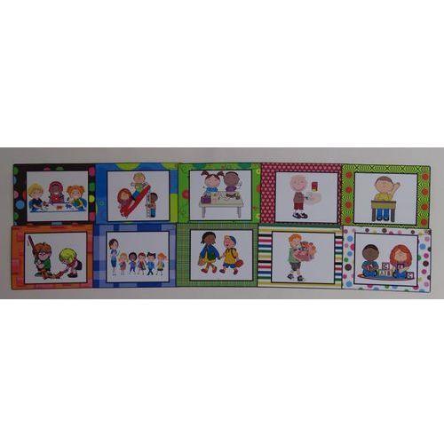 Zasady przedszkolaka - kolorowe ramki
