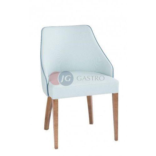 Krzesło bez podłokietnika buk b-5001 marki Paged