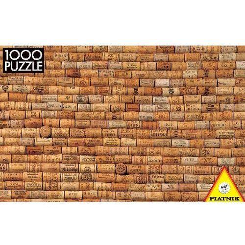 , puzzle, 1000 elementów, korki marki Piatnik