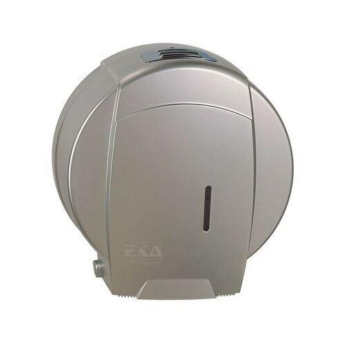 Pojemnik na papier toaletowy jumbo srebrny marki Ekaplast