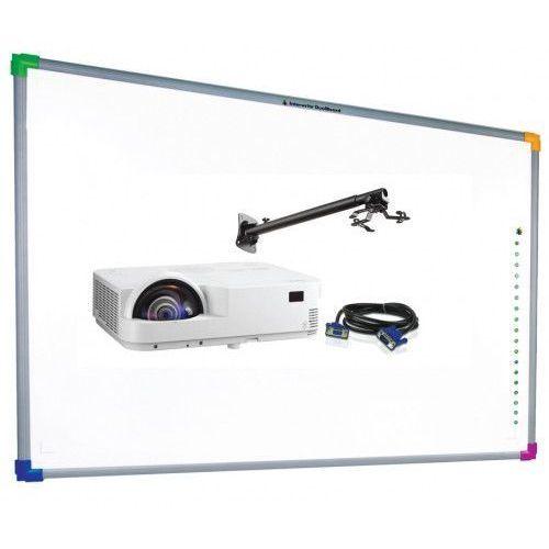 Interwrite Tablica dualboard 1289 + projektor nec um301w + uchwyt ścienny