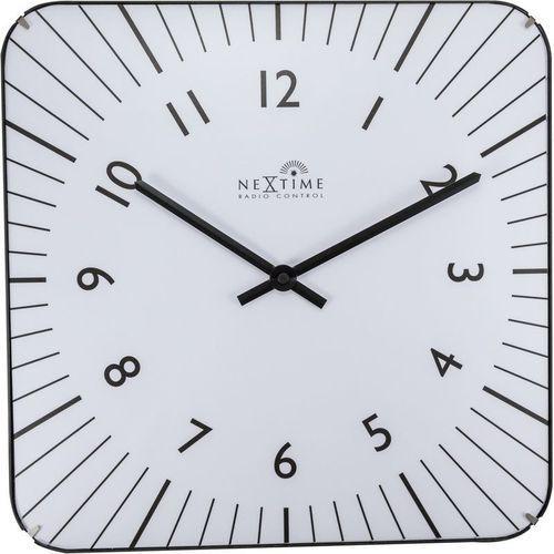 NeXtime - Zegar ścienny Alex RC - biały