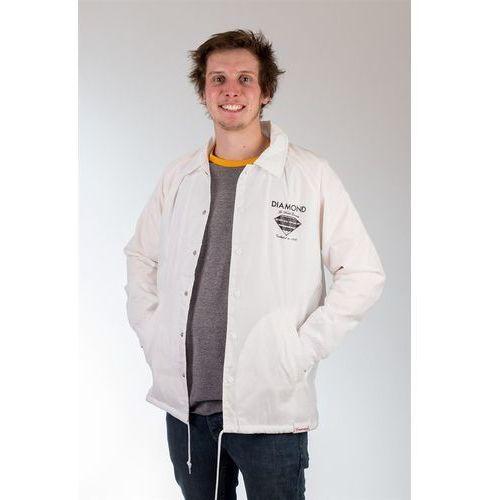 kurtka DIAMOND - Fastening Devise Coaches Jacke White (WHT), kolor biały