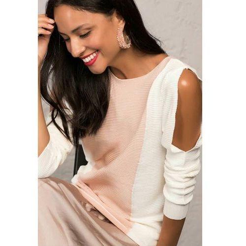 Damska bluzka GOLIA PINK, kolor biały