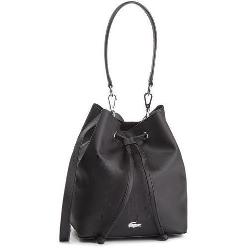Lacoste Torebka - bucket bag nf2535dc black 000