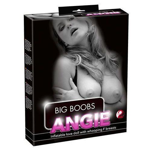 Dmuchana lalka big boobs angie 3 otwory realistyczna twarz marki You2toys