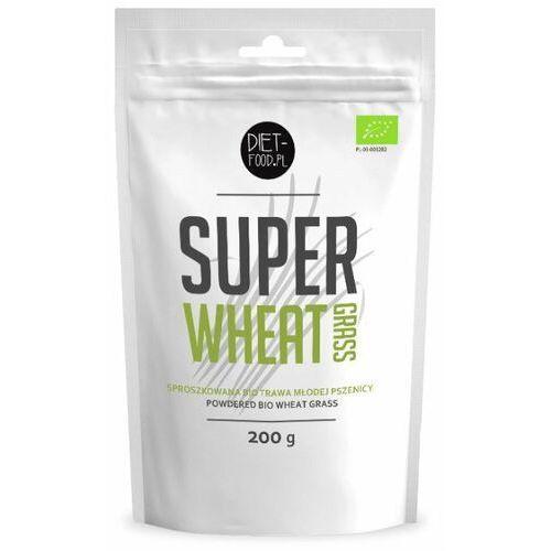 Diet food Diet-food bio super trawa pszenicy 200g (5901549275339)