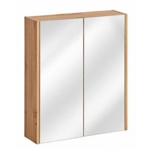 Producent: elior Wisząca szafka łazienkowa z lustrem - saloma 5x 60 cm