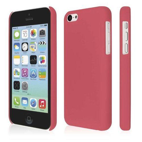 klix soft touch osłona twarda etui (do apple iphone 5 °c, bardzo cienkie), intensywnie różowy marki Empire