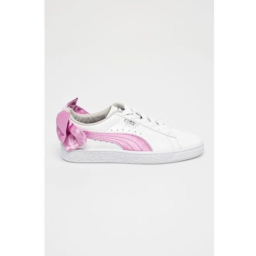 Puma - buty dziecięce basket bow patent