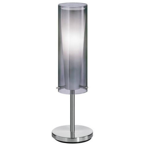 EGLO 90308 - Lampa podłogowa PINTO NERO 1 x E27/60W przyciemnione szkło, 90308