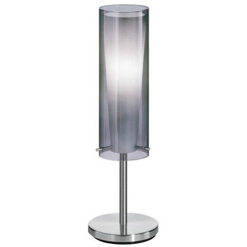 Eglo 90308 - lampa podłogowa pinto nero 1 x e27/60w przyciemnione szkło