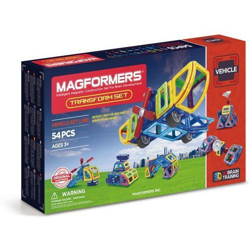 Klocki Magformers Transform Set 54