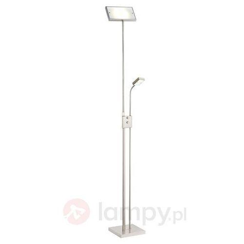 Prostokątna lampa stojąca led sunniva marki Brilliant