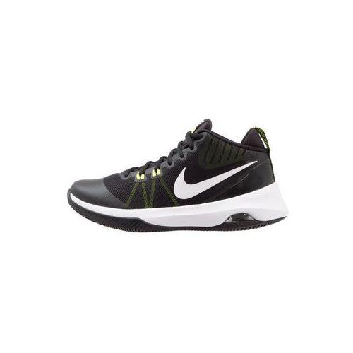Nike Performance AIR VERSITILE Obuwie do koszykówki black/white/volt