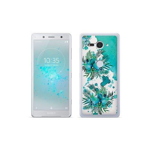 etuo Fantastic Case - Sony Xperia XZ2 Compact - etui na telefon Fantastic Case - turkusowa orchidea, ETSN689FNTCFC005000