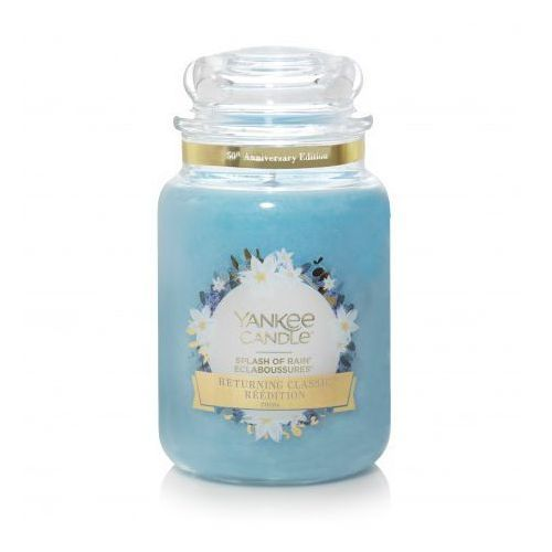 YANKEE CANDLE ŚWIECA 623G SPLASH OF RAIN (5038581071831)