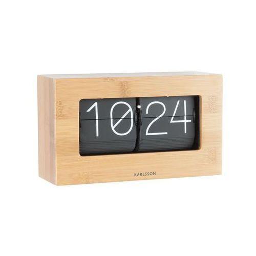 Karlsson :: zegar klapkowy flip clock boxed