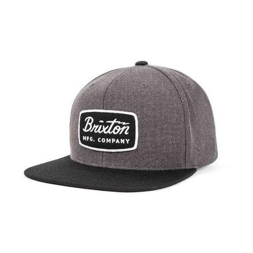 czapka z daszkiem BRIXTON - Jolt Charcoal Heather/Black 0134 (0134) rozmiar: OS