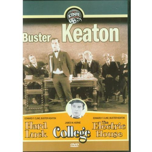 Buster Keaton część 1 (College, Hard Luck, The Electric House) (DVD) - Mayfly z kategorii Komedie