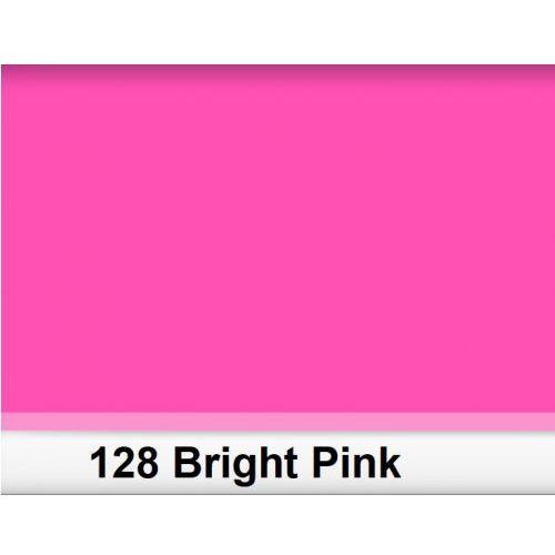 Lee 128 bright pink filtr barwny folia - arkusz 50 x 60 cm