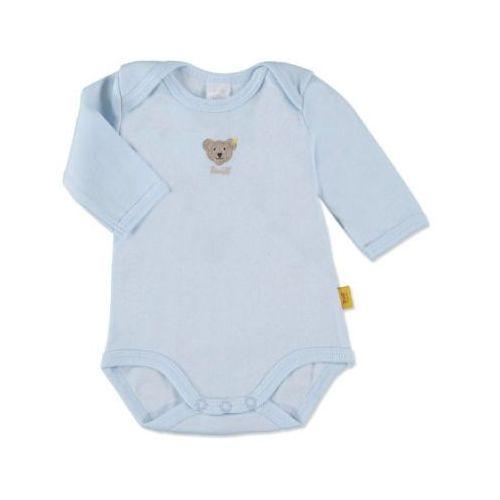 STEIFF Boys Baby Body dziecięce baby blue, kolor niebieski