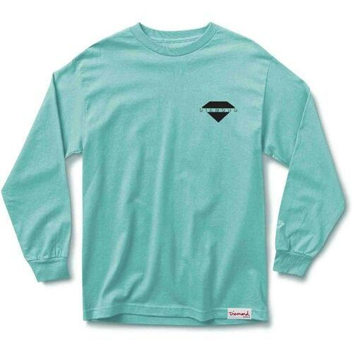 Koszulka - viewpoint l/s tee sp18 diamond blue (dblu) rozmiar: 2x, Diamond