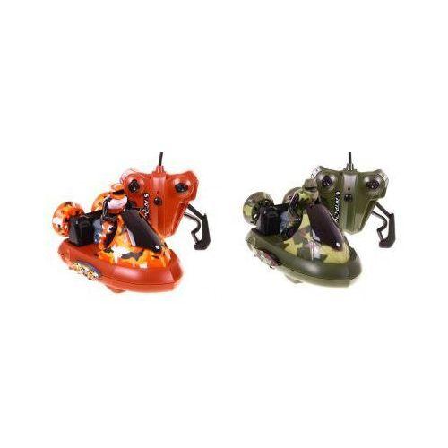 Zestaw bitwa poduszkowców: 2 zdalnie sterowane pojazdy + 2 bezprzewodowe kontrolery. marki Funcy stunt