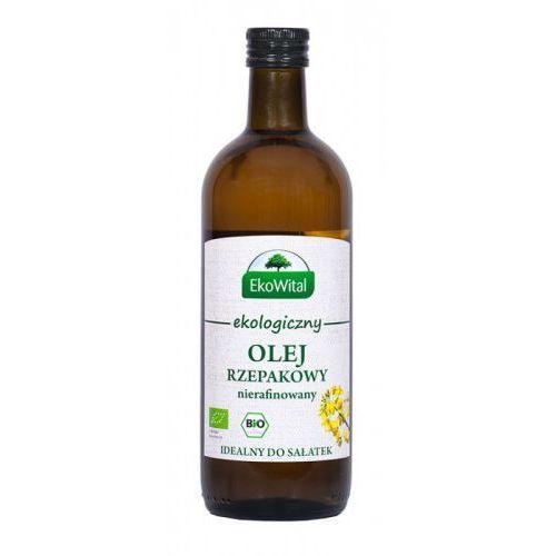 Olej rzepakowy tłoczony na zimno BIO 1 l - Ekowital