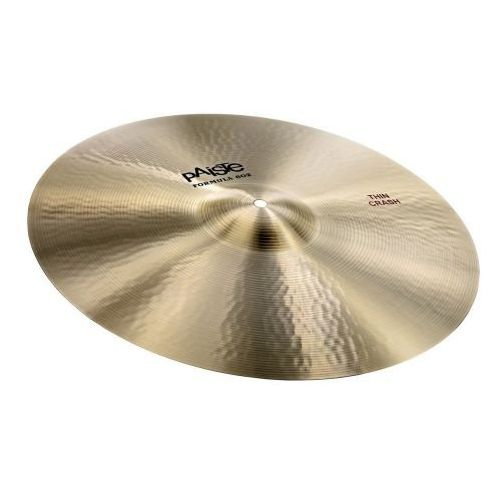 Paiste crash formula 602 20″ thin
